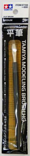 Tamiya 87159 Modeling Brush HG (Flat Brush) Medium