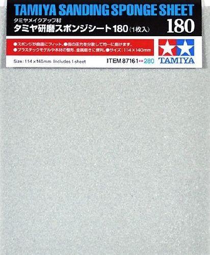 Tamiya 87161 Sanding Sponge Sheet 180