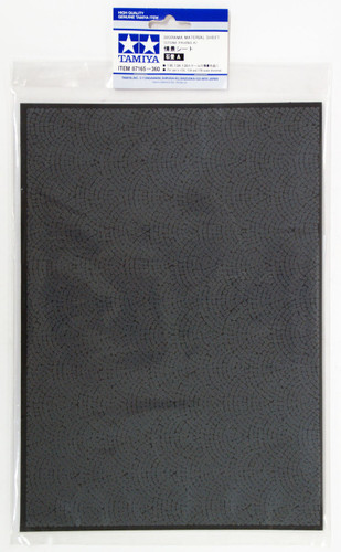 Tamiya 87165 Diorama Material Sheet (Stone Paving A)