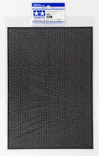 Tamiya 87166 Diorama Material Sheet (Stone Paving B)