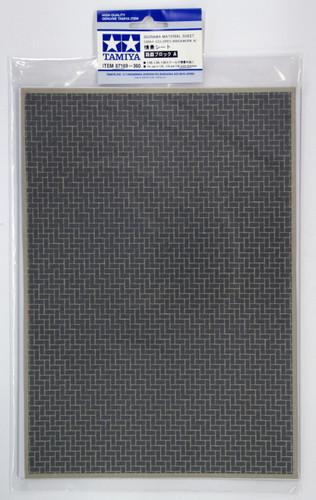 Tamiya 87169 Diorama Material Sheet (Gray-Colored Brickwork A)