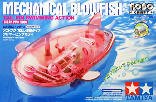 Tamiya 89975 Mechanical Blowfish (Tail Fin Swimming Action) Clear Pink Body