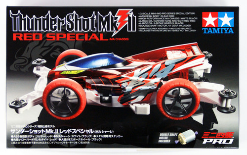 Tamiya 95212 Mini 4WD Thunder Shot Mk.II Red Special (MA Chassis) 1/32