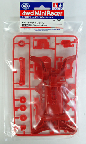 Tamiya 95250 Mini 4WD AR Chassis (Red)