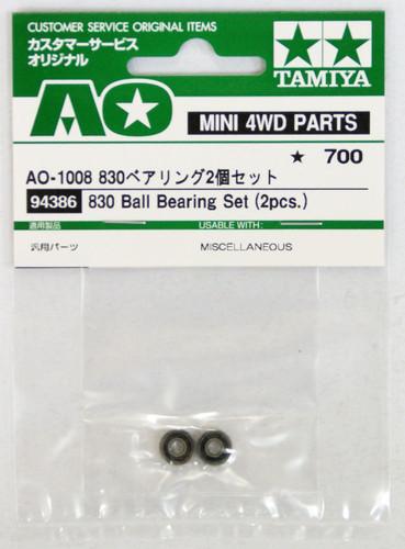 Tamiya AO-1008 Mini 4WD 830 Bearing Set 2 pcs (94386)