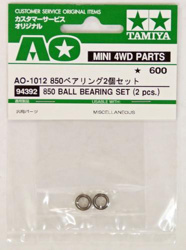 Tamiya AO-1012 Mini 4WD 850 Ball Bearing Set 2 pcs (94392)
