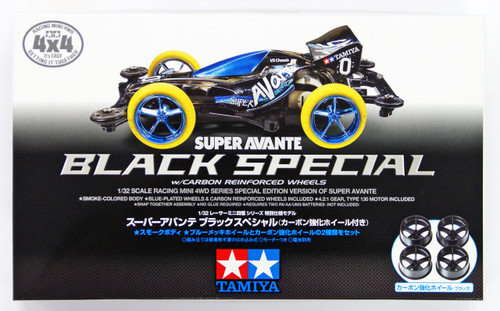 Tamiya Mini 4WD 95291 Super Avante Black Special (VS Chassis) 1/32