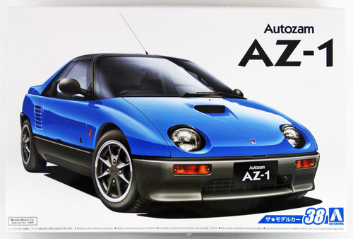 Aoshima 53386 The Model Car 38 Mazda PG6SA AZ-1 1992 1/24 scale kit