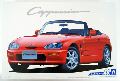 Aoshima 53416 The Model Car 40 Suzuki EA11R Cappuccino 1991 1/24 scale kit