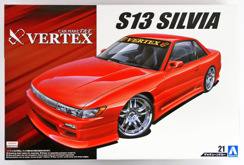 Aoshima 53348 Vertrex PS13 Silvia 1991 (Nissan)1/24 scale kit