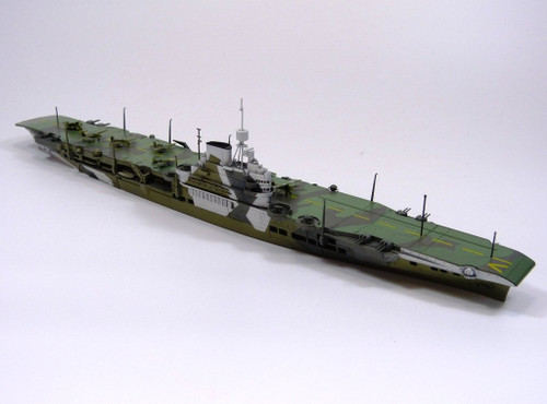 Aoshima Waterline 51061 British Aircraft Carrier HMS VICTORIOUS 1/700 scale kit