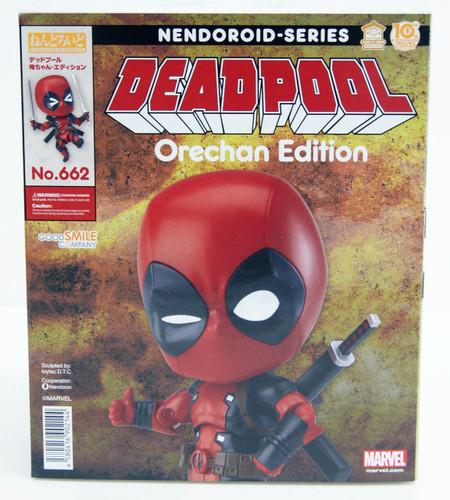 Good Smile Nendoroid No.662 Deadpool Orechan Edition Figure