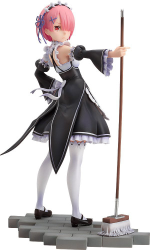 Good Smile Re: Zero Ram 1/7 Scale Action Figure (Re: Zero Kara Hajimeru Isekai Seikatsu)