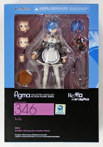 Max Factory Figma 346 Rem Figure (Re: Zero kara Hajimeru Isekai Seikatsu)