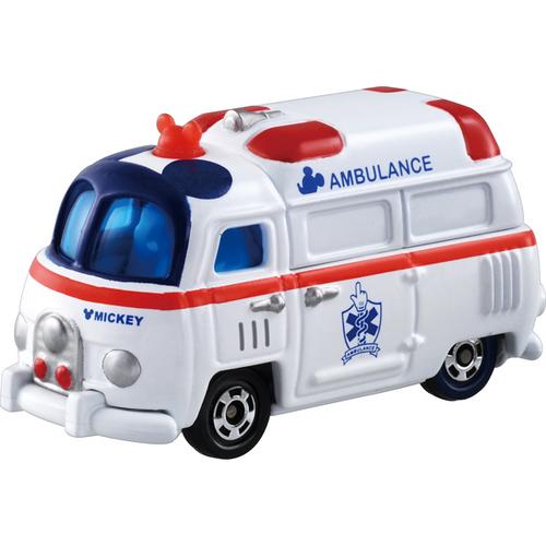 Takara Tomy Tomica Disney Motors DM-12 Worm'n Mickey Mouse Ambulance