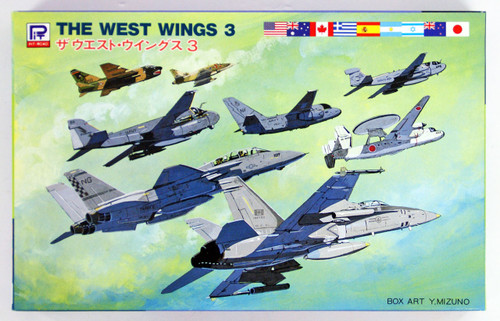Pit-Road Skywave S-13 The West Wings 3 1/700 scale kit