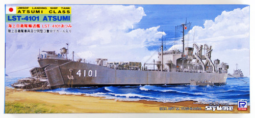 Pit-Road Skywave J-18 JMSDF LST-4101 Atsumi 1/700 scale kit