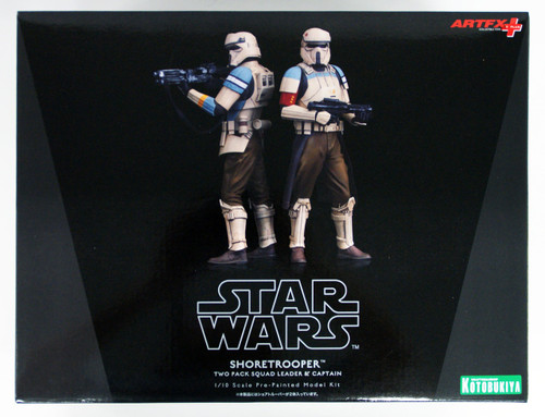 Kotobukiya SW118 Star Wars ARTFX+ Shoretrooper Set of 2 (Squad Leader & Captain)