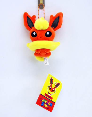 Pokemon Center Original Mocchiri Mascot Pokemon Dolls Flareon (Booster) 513-215341