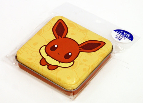 Pokemon Center Original Eevee Collection Pokemon Dolls Tin Case Memopad Eevee 513-214719