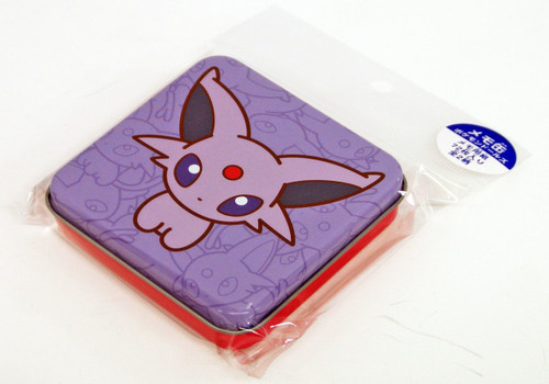 Pokemon Center Original Eevee Collection Pokemon Dolls Tin Case Memopad Espeon (Eifie) 513-214757