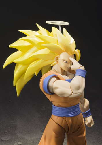 Bandai 149484 S.H. Figuarts Dragon Ball Super Saiyan 3 Son Goku Action Figure