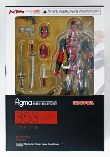 Good Smile Figma 353 Deadpool Figure