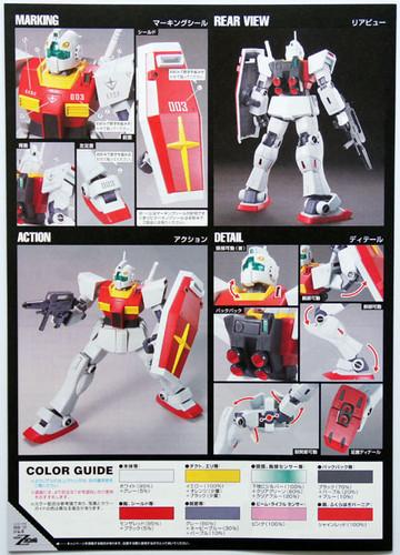Bandai HGUC 131 Gundam RMS-179 GM II 1/144 Scale Kit