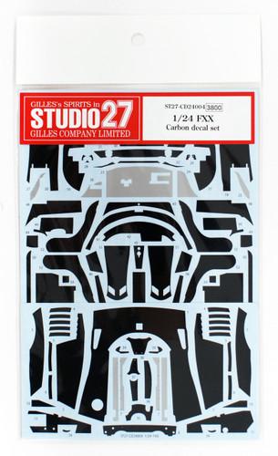 Studio27 ST27-CD24004 Ferrari FXX Carbon Decal Set for Tamiya 1/24
