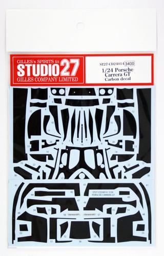Studio27 ST27-CD24014 Porsche Carrera GT Carbon Decal Set for Tamiya 1/24