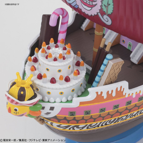 Bandai ONE PIECE GRAND SHIP COLLECTION 163879 Queen Mama Chanter Non-scale Plastic Model Kit