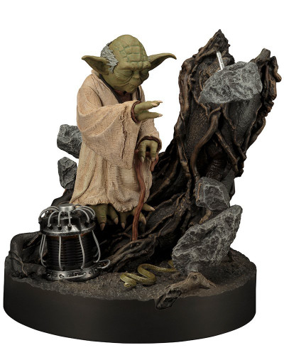 Kotobukiya SW132 Star Wars ARTFX Yoda The Empire Strikes Back Repainted 1/7 Scale Figure