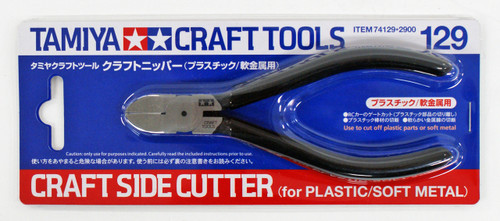 Tamiya 74129 Craft Side Cutter For Plastic / Soft Metal