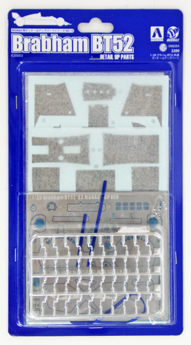 Aoshima 98264 Brabham BT52 Detail Up Parts 1/20 scale
