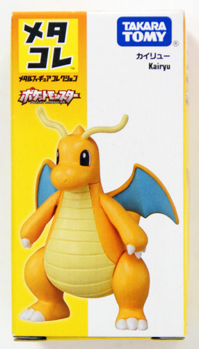 Takara Tomy Disney Metakore Metal Figure Collection Pokemon Dragonite Kairyu (872955)