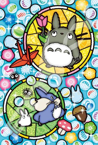 Ensky Art Crystal Jigsaw Puzzle 126-AC64 My Neighbor Totoro (126 Pieces)