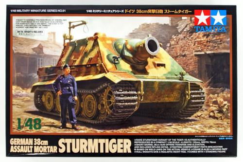 Tamiya 32591 German 38cm Assault Mortar Sturmtiger 1/48 scale kit