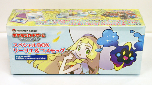 Pokemon Center Original Card Sun & Moon SP Box Lillie & Cosmog 617-222714