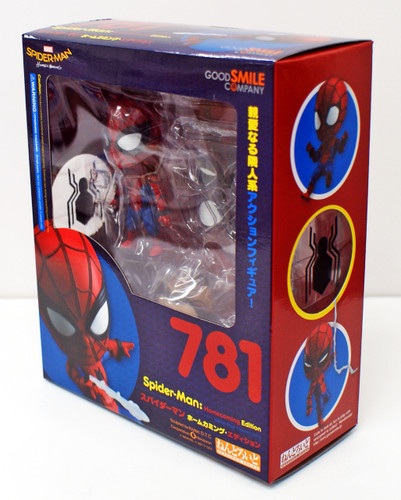 Good Smile Nendoroid 781 Spider-Man Homecoming Edition