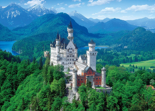 Epoch Jigsaw Puzzle 54-014 Neuschwanstein Castle Germany (2000 S-Pieces)