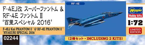 Hasegawa 02244 F-4EJ Kai Phantom II & RF-4E Phantom II Hyakuri Special '16 1/72