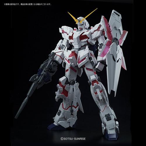 Bandai GUNDAM MEGA Size Model UNICORN GUNDAM (Destroy Mode) 1/48 scale kit 167426