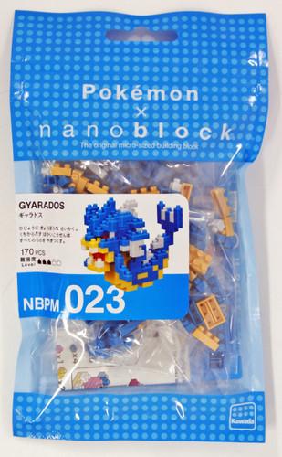 Kawada NBPM-023 nanoblock Pokemon Gyarados