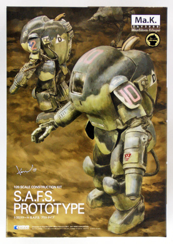 Wave MK010 S.A.F.S. Prototype 1/20 Scale Kit