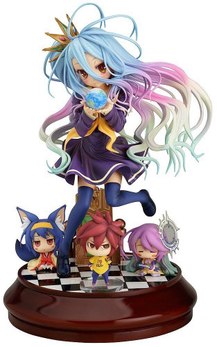 Phat! Shiro 1/7 Scale Action Figure (No Game No Life)