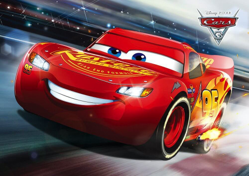 Tenyo Japan Jigsaw Puzzle D-108-807 Disney Cars 3 Lightning McQueen (108 Pieces)