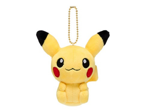 Pokemon Center Original Mocchiri Mascot Pokemon Dolls Pikachu 722-