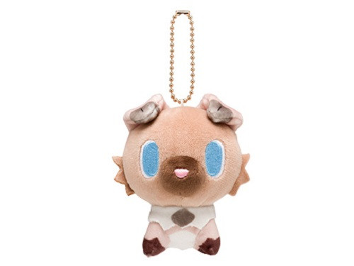 Pokemon Center Original Mocchiri Mascot Pokemon Dolls Rockruff (Iwanko) 722-