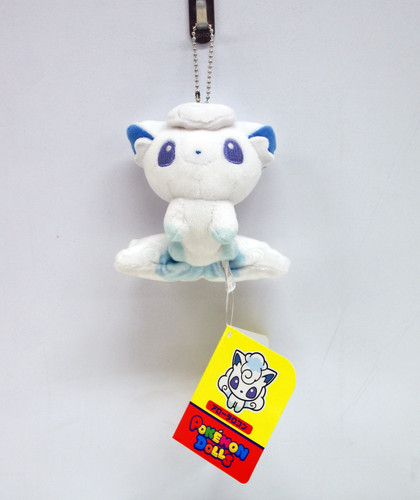 Pokemon Center Original Mocchiri Mascot Pokemon Dolls Alola Vulpix (Rokon) 722- 223728
