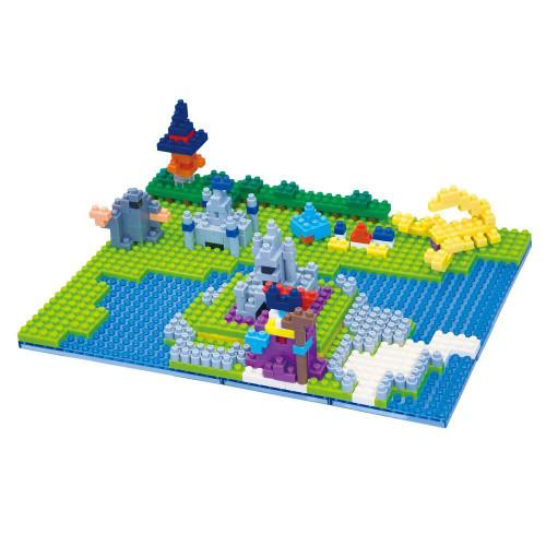 Kawada Dragon Quest nanoblock Radatome Castle / Dragonlord's castle 230155
